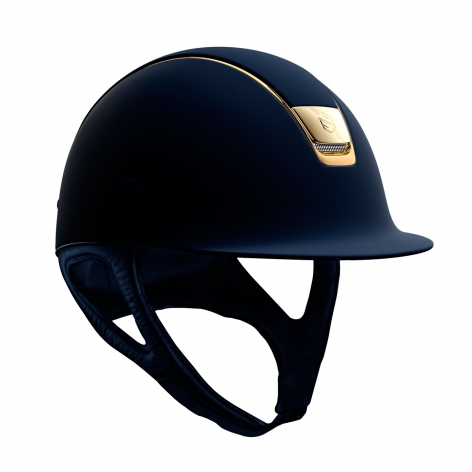 Navy Gold Riding Hat