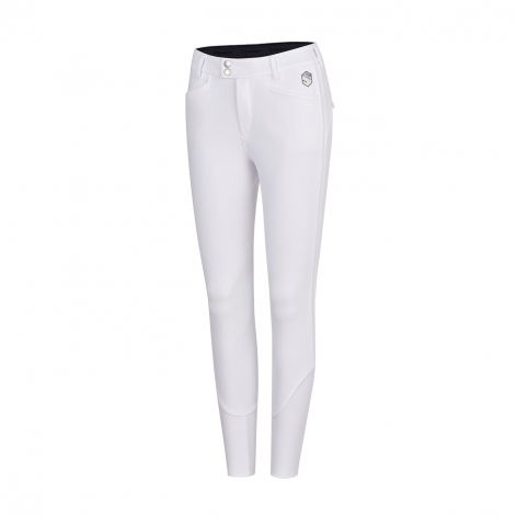 Astrid Full Grip Breeches - White Image 2