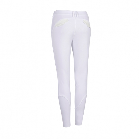 Astrid Full Grip Breeches - White Image 3