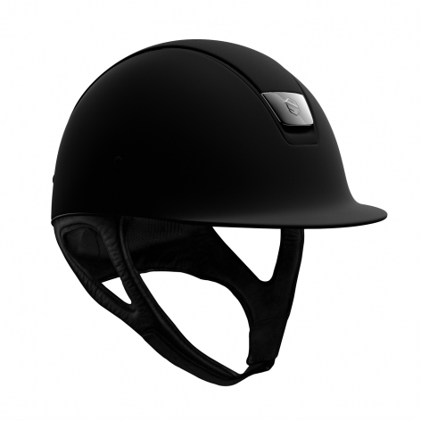 Black Matt Riding Hat