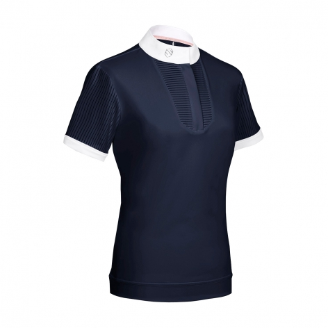 Apolline Show Shirt - Navy Image 2