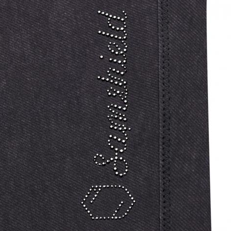 Adele Jeans Breeches - Grey Denim Image 4