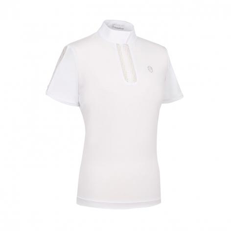White Samshield Show Shirt