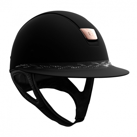 Crystal Samshield Riding Hat