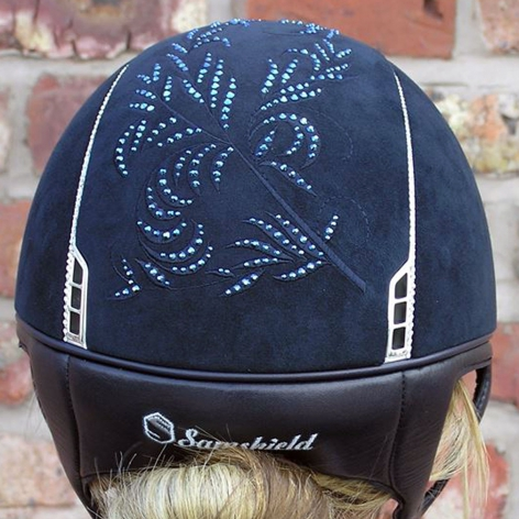 Samshield Navy Flower Hat