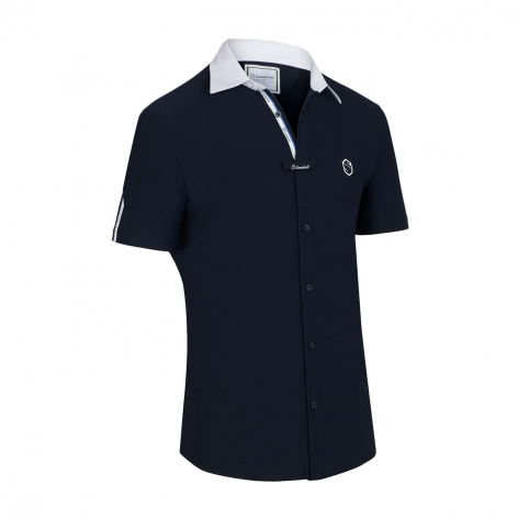 Georgio Men's Show Shirt - Navy Image 2