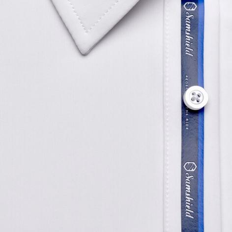 Georgio Men's Show Shirt - White Image 4
