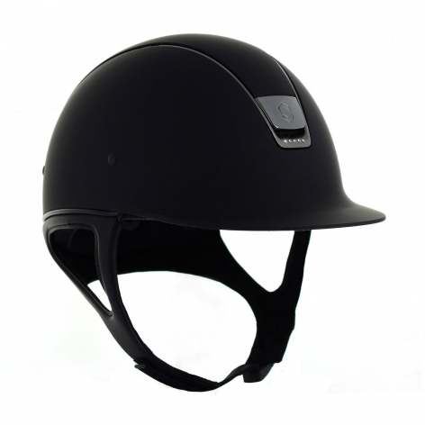 Black Samshield Riding Hat