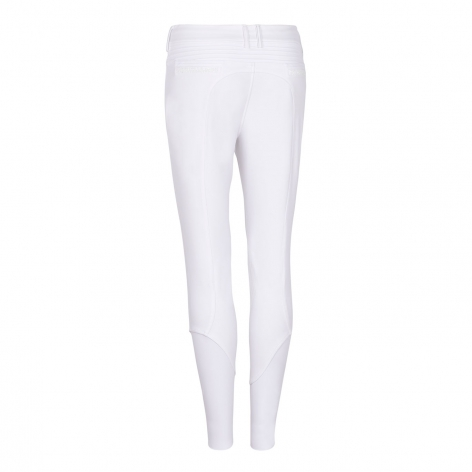 Clotilde Crystal Water Repellent Breeches - White Image 3