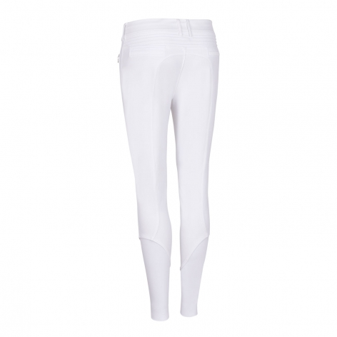 Clotilde Metal Dots Water Repellent Breeches - White Image 3