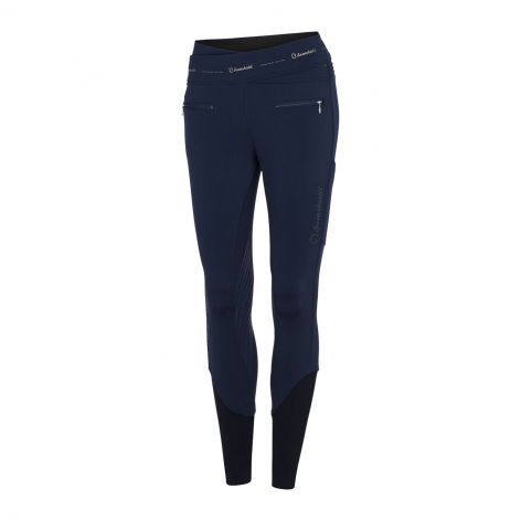 Navy Samshield Riding Leggings