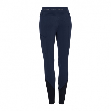 Alpha Fleece Lined Riding Leggings - Navy Image 3