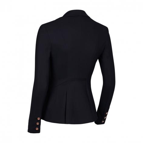 Louise Smocking Show Jacket - Black/Rose Gold Image 3