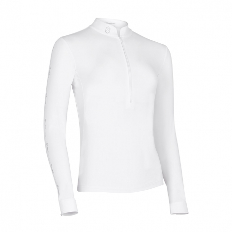 Eloise Long-Sleeve Show Shirt - White Image 2