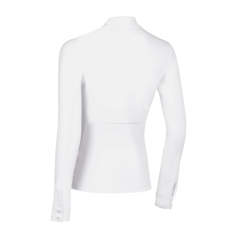 Eloise Long-Sleeve Show Shirt - White Image 3