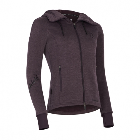 Samshield Aubergine Hooded Top