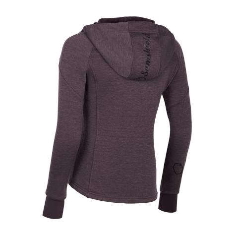 Swarovski Hooded Sweatshirt III - Aubergine Image 3