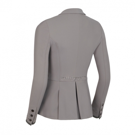 Victorine Embroidery Show Jacket - Grey Image 3