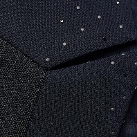 Louise Smocking New Decor Show Jacket - Navy Image 4