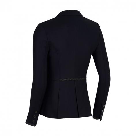 Victorine Crystal Fabric Show Jacket - Black Image 3