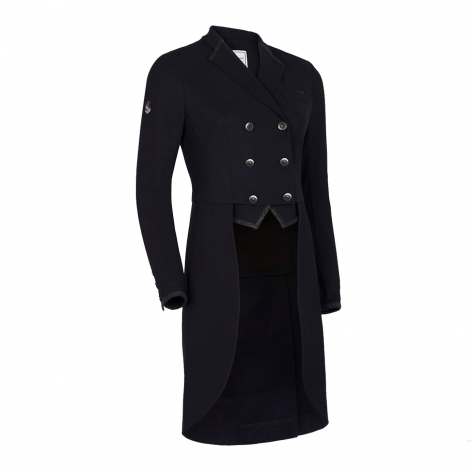 Samshield Black Dressage Tailcoat