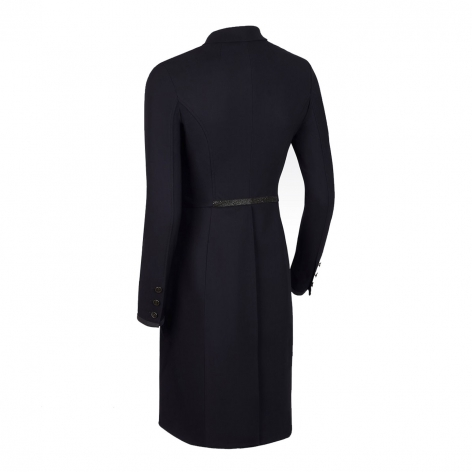 Crystal Fabric Dressage Tailcoat - Black Image 3