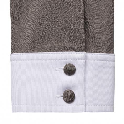 Sophia Long-Sleeved Show Shirt - Taupe Image 4