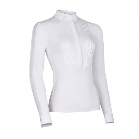 Samshield White Competition Shirt