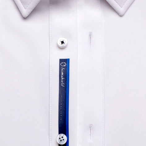 Georges Men's Competition Shirt - White Image 4