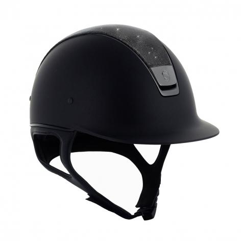 Black Shimmer Riding Hat