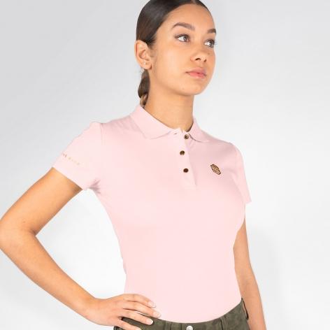 Samshield Pink Polo Shirt