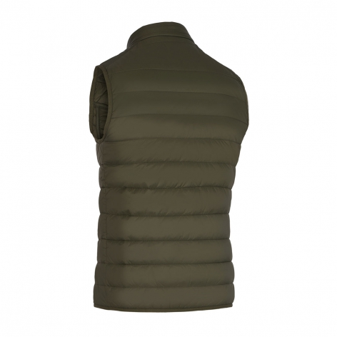 Men's Gstaad Gilet - Olive Green Image 3