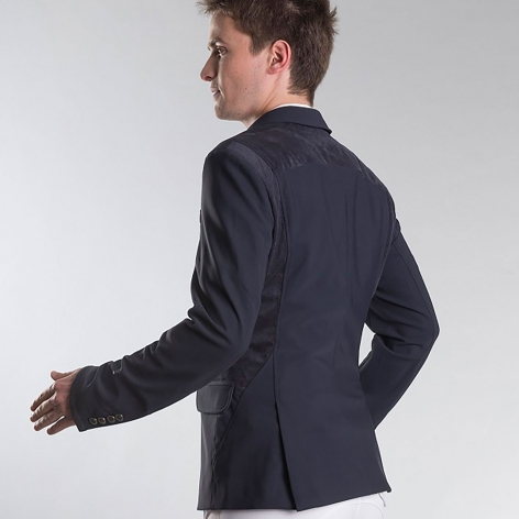 Louis Men's Show Jacket - Navy Image 3