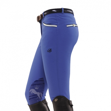 Bright Blue Spooks Breeches