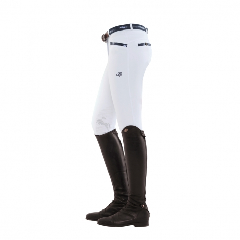 Spooks White Sequin Breeches