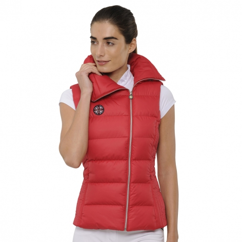 Spooks Equestrian Red Gilet