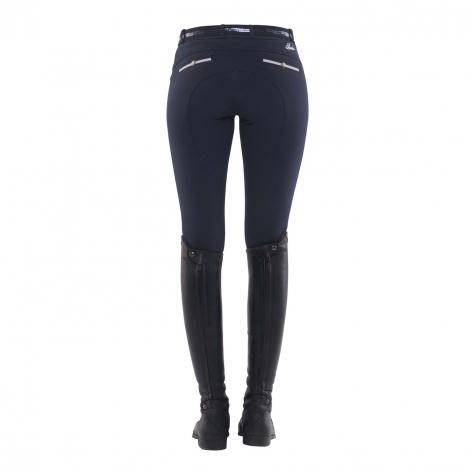 Ricarda Full Grip Thermo Breeches - Navy