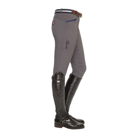 Valerie Full Grip Breeches - Grey