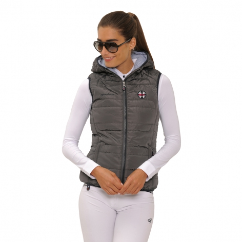 Spooks Grey Lola Gilet