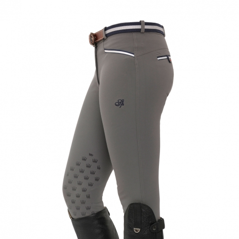 Spooks Grey Horse Riding Breeches