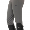 Lucy Knee Grip Breeches - Mid Grey Image 2