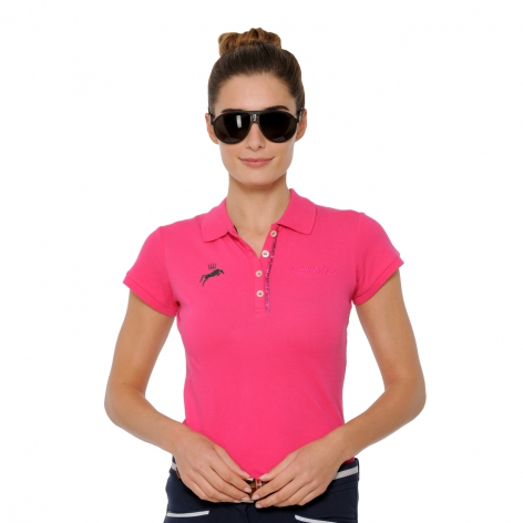 Spooks Pink Polo Shirt