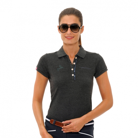Nicky Polo Shirt - Dark Grey
