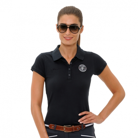 Viktoria Polo Shirt - Navy