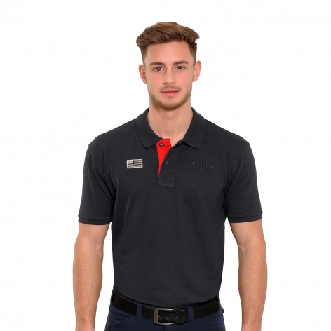 Navy Spooks Polo Shirt