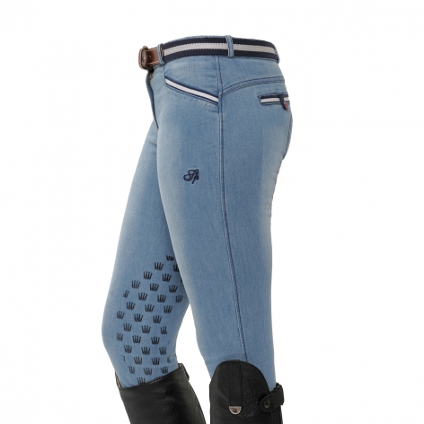 Spooks Light Denim Breeches
