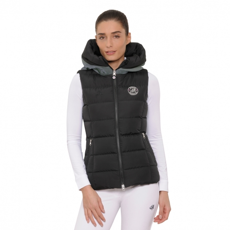 Spooks Black Debbie Gilet