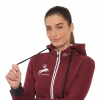 Burgundy Horse Riding Hoody
