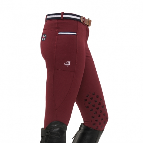 Spooks Burgundy Riding Breeches