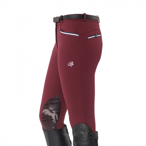 Spooks Burgundy Ricarda Breeches